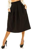 Женская юбка -колокольчик ниже колен