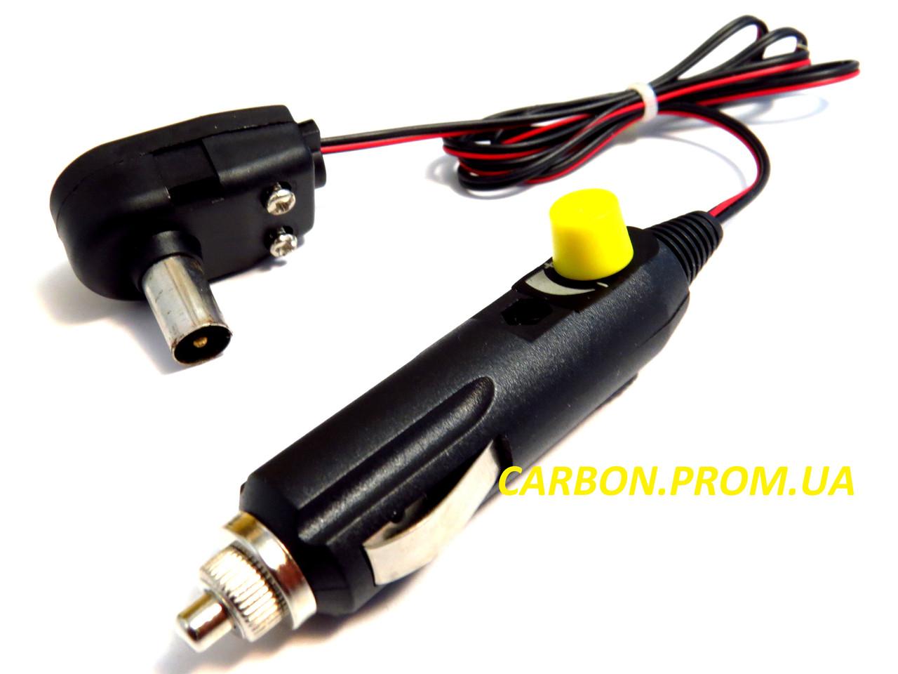 Автомобильный штекер для телевизионной антенны АТВ-3А Корона