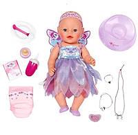 Интерактивная кукла «Феечка» Baby Born (с аксессуарами), 43 см,  Zapf Creation