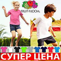 Детская футболка для спорта 100% полиэстер 61-013-0