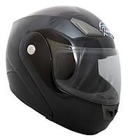 GEON 936 Solid Gloss Black, XXL (63-64) Мотошлем модуляр