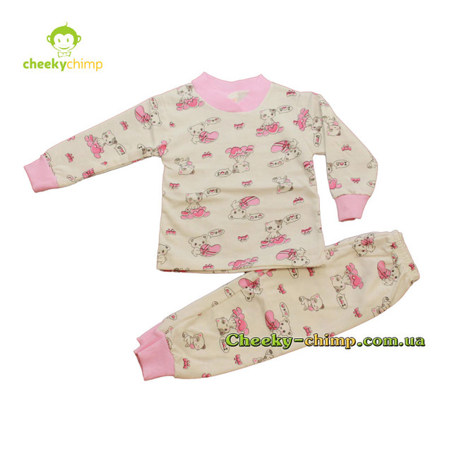 Пижама Mini poly на девочку 1-4 года