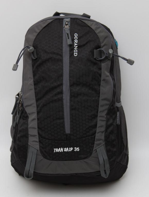 Городской, туристический рюкзак + дождевик. Отделение для ноутбука и ортопедическая спинка. Код: КЕ551-1