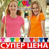Детская футболка мягкая для девочек 61-017-0