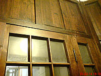 Реставрация деревянной двери в Киеве