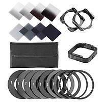 Набор светофильтров Cokin P серых и набор установки Cokin