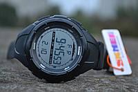 Мужские спортивные часы, военные, Skmei 1025 (black) / - (ВІДЕО)