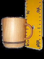 Деревянная кружка 7х6 см