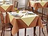 Скатерть для стола 290х140см, кофе с молоком
