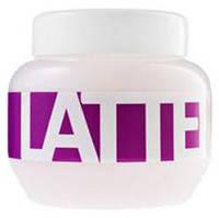 Маска питательная для поврежденных и химически обработанных волос с молочными протеинами Latte 800 мл Kallos, фото 1
