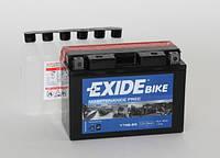 Аккумулятор для мотоцикла гелевый  EXIDE YT9B-BS=ET9B-BS  8Ah 150x70x105
