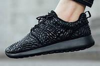 Кроссовки женские Nike Roshe One DMB - Triple Black р.37-39, фото 1