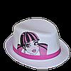 Шляпа детская челентанка фотопринт кукла
