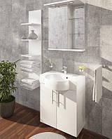 Комплект мебели для ванной Ibiza 60 см Буль-буль белый