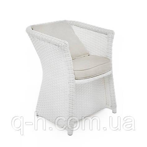 Плетеное кресло Relax из искусственного ротанга, фото 2
