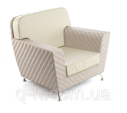 Плетеное кресло Florida из искусственного ротанга , фото 2