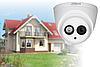 HD CVI видеонаблюдение на 8 камер для частного дома в Днепропетровской области