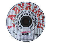"""Капельная лента щелевая """"LABYRINTH"""" 1000м 20см, фото 1"""