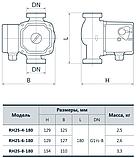 Циркуляционный насос Rudes RH 25–4–180, фото 3