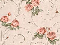 Обои на стену, винил, на бумажной основе, цветы, розы, B58,4 Далида М320-02, 0,53*10м
