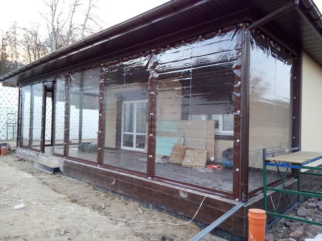 Мягкие окна. Прозрачные шторы для беседок, террас, веранд, пристроек, барбекю, альтанок.