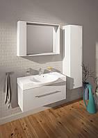 Мебельный комплект для ванной комнаты Буль-Буль Sumatra 98см белый, один ящик