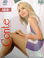 Капроновые колготки Conte Solo 40 Den. Р-р 5,6.