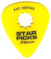 Медиатор Everly 30023 Star Picks Medium 0.73 mm