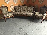 Комплект мягкой мебели барокко, Италия