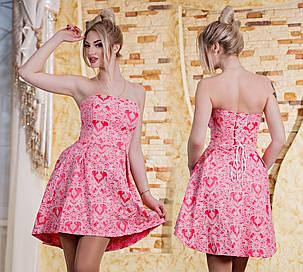 Платье с корсетом д413/2, фото 2