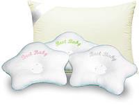 Подушки в кроватку и коляски для малышей