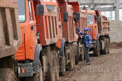 доставка песка Харьков