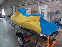 Чехол на водный мотоцикл с украинской символикой. Тенты на водные мотоциклы., фото 1