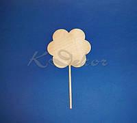 Панно цветок на ножке №2 заготовка для декупажа и декора