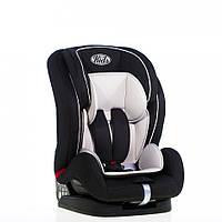 Автокресло Kids Life Space (9-36 кг) BS07-B1, (2801-2804) чёрное со светло-серым