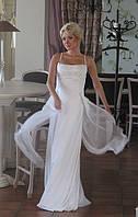 Платье свадебное из шелка, фото 1