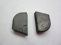 Пластина твердосплавная напайная 01432 ВК8