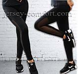 Спортивные брюки -леггинсы женские. Мод. 1091. (эластан), фото 2