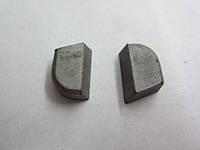 Пластина твердосплавная напайная 07160 ВК8