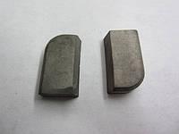 Пластина твердосплавная напайная 10281 ВК6