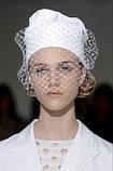 Вуаль шляпная, белый (50 см), фото 5