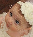Вуаль шляпная, белый (50 см), фото 7