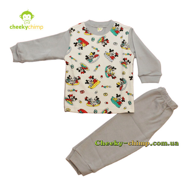 Пижама Baby на мальчика 1, 2, 3 года