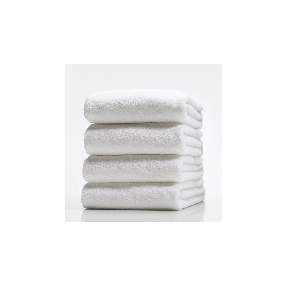 Полотенце махровые хлопковые белые Турция 420 г/м2 - Интернет магазин Постелюшка (Домашний текстиль, сумки, товары для дома и отдыха) в Харькове