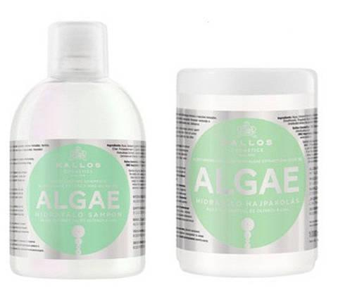 Шампунь для волос Kallos Algae с экстрактом  водорослей и оливковым маслом , фото 2
