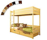 Двоповерхове ліжко Estella Дует (Бук), фото 1