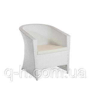 Кресло плетеное из искусственного ротанга barselona, фото 2