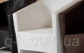 Кресло плетеное из искусственного ротанга barselona, фото 3