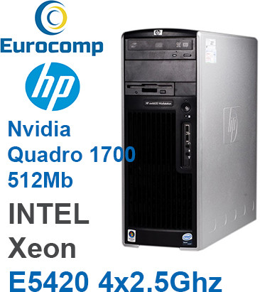 Компьютер Hp XW6600 Intel Xeon E5420