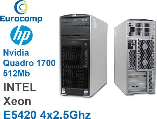Компьютер Hp XW6600 Intel Xeon E5420